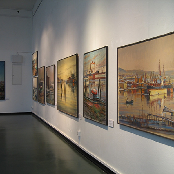 Carl Bjerkås konstnär vernissage