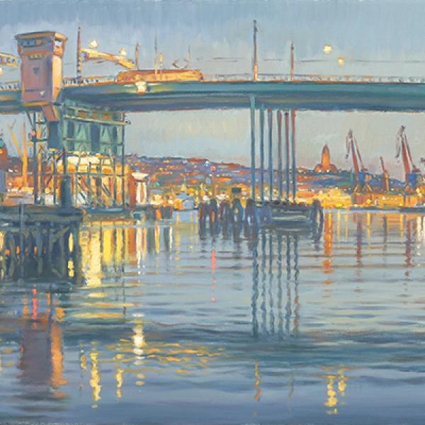 Götaälvbron, Göteborgsmålningar
