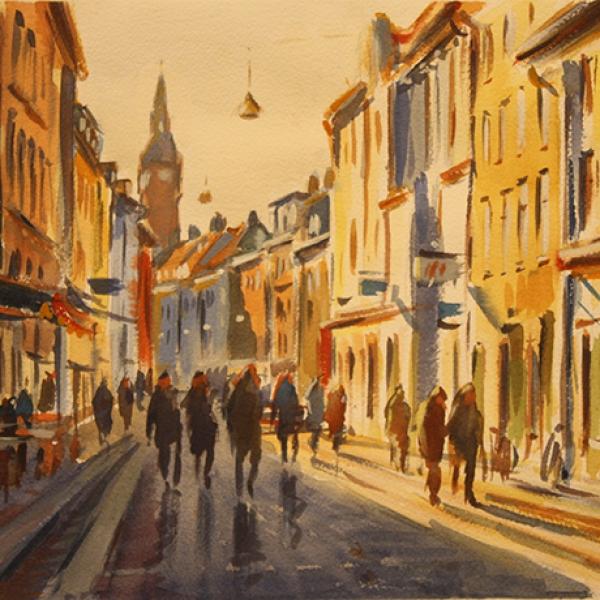 Köpenhamn, Carl Bjerkås