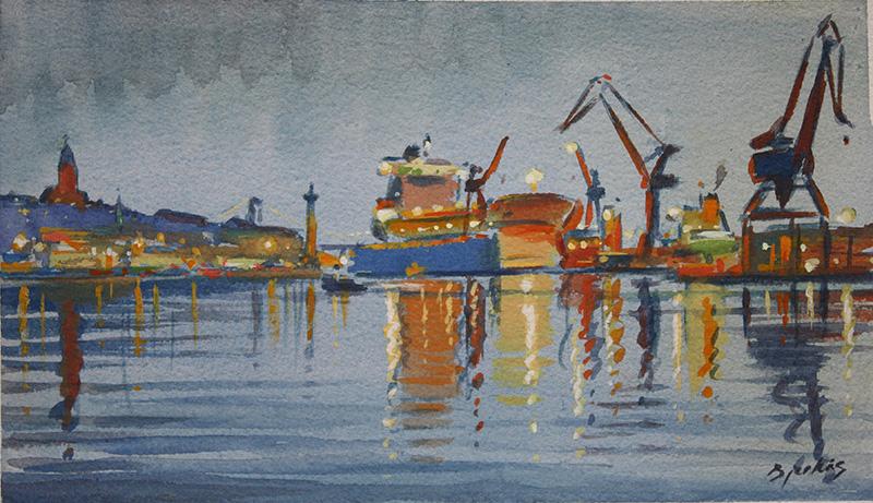 Göteborgs hamn, konstnär