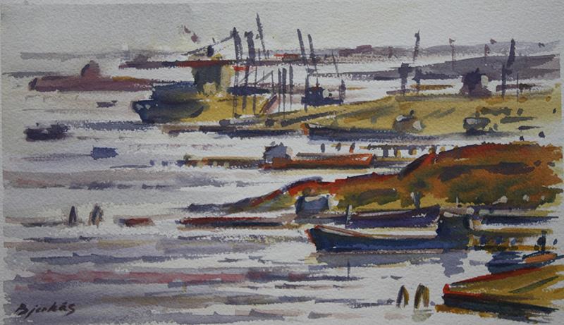 Göteborgsmålningar, ytterhamnar