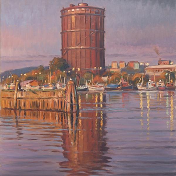 Göteborgsmålningar, hamn