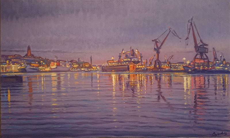 Göteborgsmålningar, Göteborgs hamn