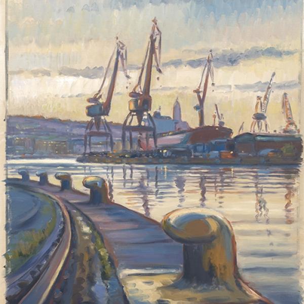 Carl Bjerkås Konstnär Göteborg målning