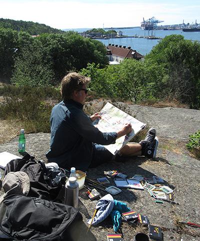 Carl Bjerkås Konstnär